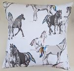 Cushion Cover in Cath Kidston Horses 16""